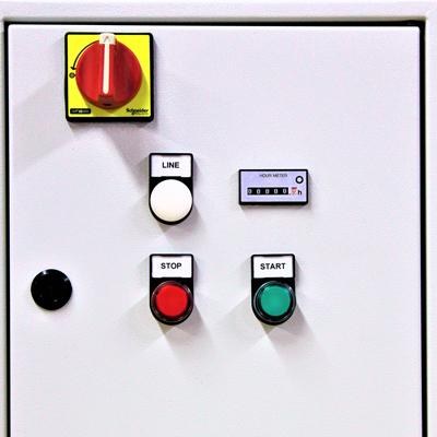 - Quadro per Impianti Verniaciatura -